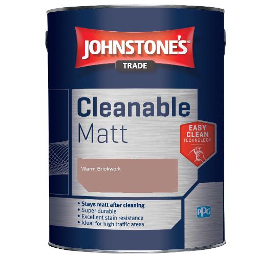 Johnstone's Trade Cleanable Matt - Warm Brickwork - 5ltr