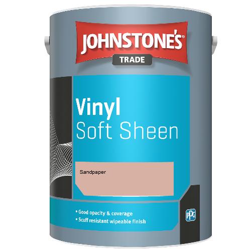 Johnstone's Trade Vinyl Soft Sheen - Sandpaper - 5ltr