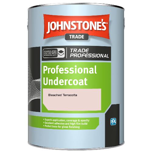 Johnstone's Professional Undercoat - Bleached Terracotta - 5ltr