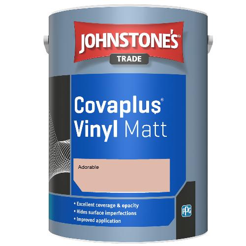 Johnstone's Trade Covaplus Vinyl Matt - Adorable - 1ltr