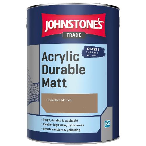 Johnstone's Trade Acrylic Durable Matt - Chocolate Moment - 5ltr