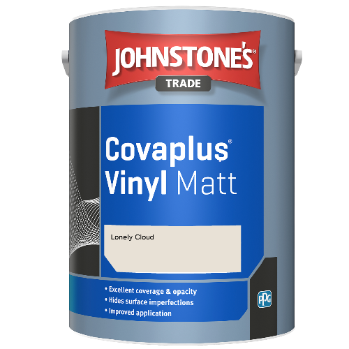 Johnstone's Trade Covaplus Vinyl Matt - Lonely Cloud - 1ltr