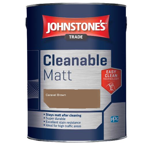 Johnstone's Trade Cleanable Matt - Caravel Brown - 5ltr