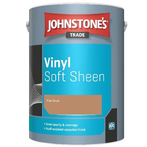 Johnstone's Trade Vinyl Soft Sheen - Fire Dust - 5ltr