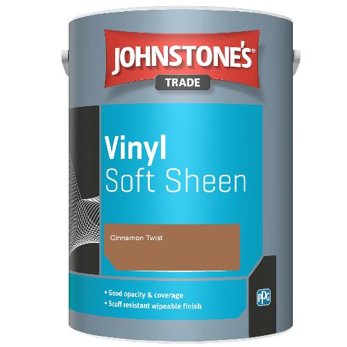 Johnstone's Trade Vinyl Soft Sheen - Cinnamon Twist - 2.5ltr