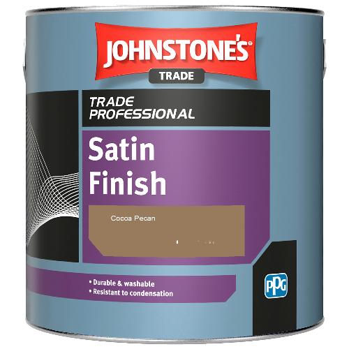 Johnstone's Satin Finish - Cocoa Pecan - 1ltr