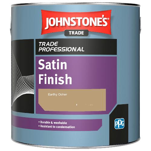 Johnstone's Satin Finish - Earthy Ocher - 2.5ltr