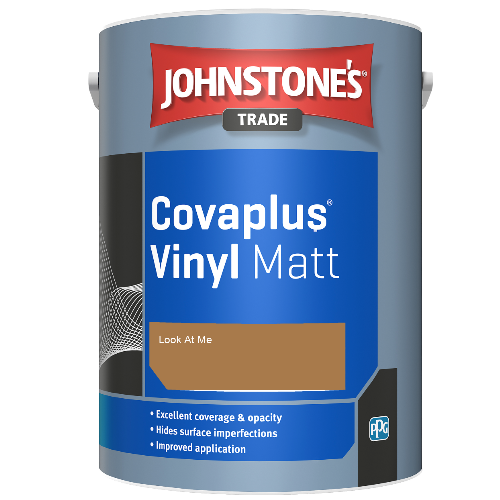 Johnstone's Trade Covaplus Vinyl Matt - Look At Me - 1ltr