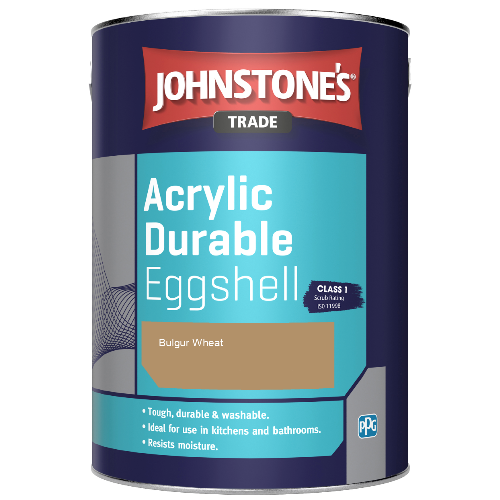 Johnstone's Trade Acrylic Durable Eggshell - Bulgur Wheat - 2.5ltr