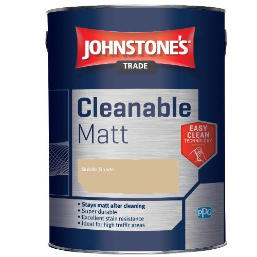 Johnstone's Trade Cleanable Matt - Subtle Suede - 5ltr
