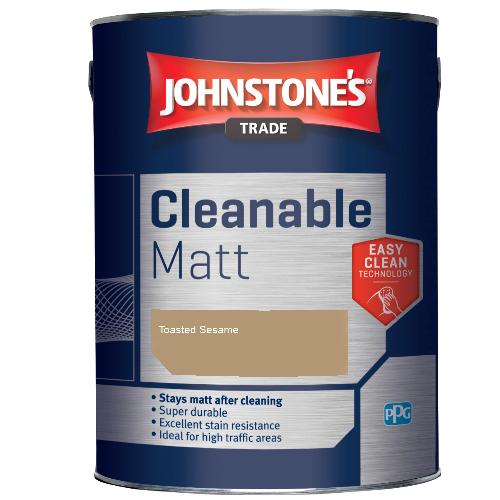 Johnstone's Trade Cleanable Matt - Toasted Sesame - 2.5ltr