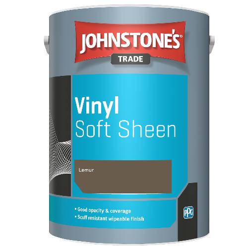 Johnstone's Trade Vinyl Soft Sheen - Lemur - 5ltr