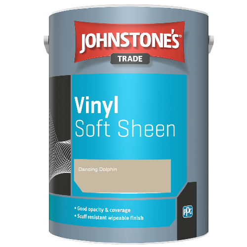 Johnstone's Trade Vinyl Soft Sheen - Dancing Dolphin - 2.5ltr
