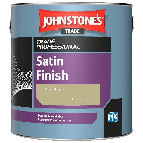 Johnstone's Satin Finish - Cress Green - 2.5ltr