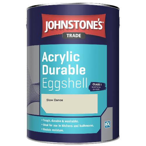 Johnstone's Trade Acrylic Durable Eggshell - Slow Dance - 2.5ltr