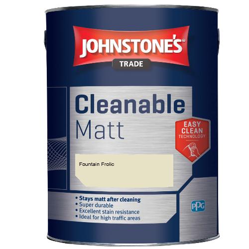 Johnstone's Trade Cleanable Matt - Fountain Frolic - 5ltr