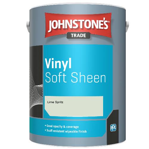 Johnstone's Trade Vinyl Soft Sheen - Lime Spritz - 2.5ltr