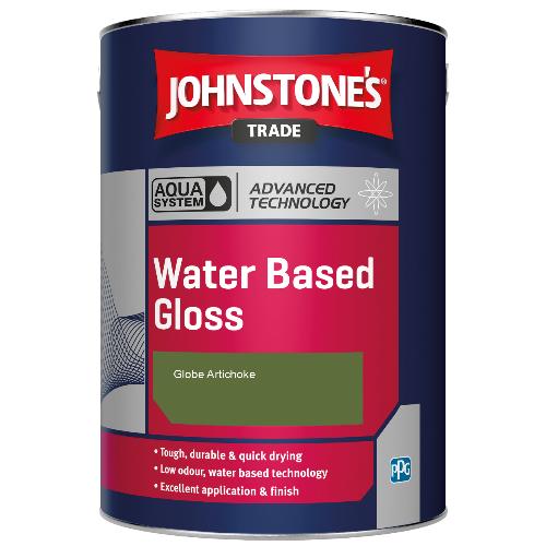 Johnstone's Aqua Water Based Gloss - Globe Artichoke - 1ltr
