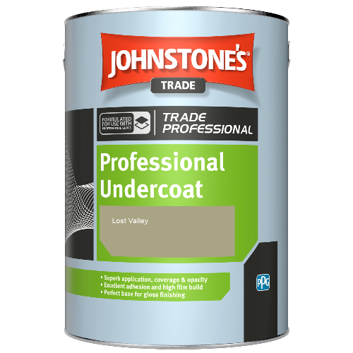 Johnstone's Professional Undercoat - Lost Valley - 1ltr