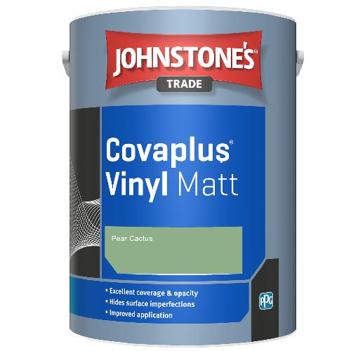 Johnstone's Trade Covaplus Vinyl Matt - Pear Cactus - 5ltr