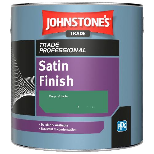 Johnstone's Satin Finish - Drop of Jade - 2.5ltr