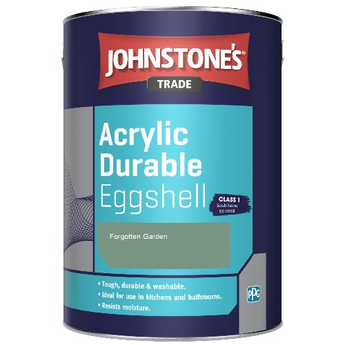Johnstone's Trade Acrylic Durable Eggshell - Forgotten Garden - 2.5ltr