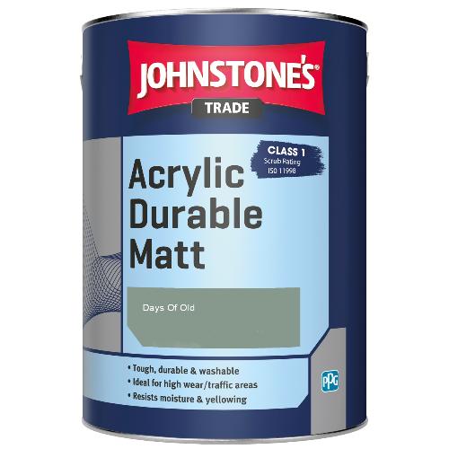 Johnstone's Trade Acrylic Durable Matt - Days Of Old - 5ltr