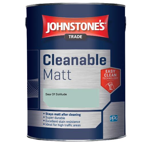 Johnstone's Trade Cleanable Matt - Sea Of Solitude - 5ltr
