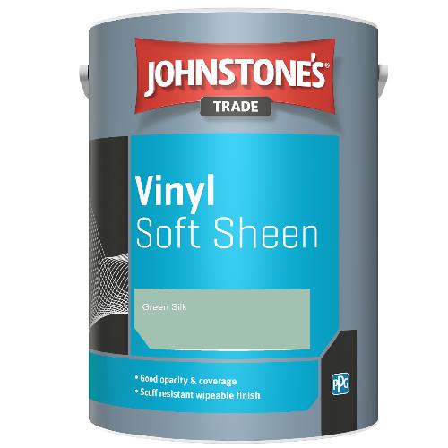 Johnstone's Trade Vinyl Soft Sheen - Green Silk - 5ltr