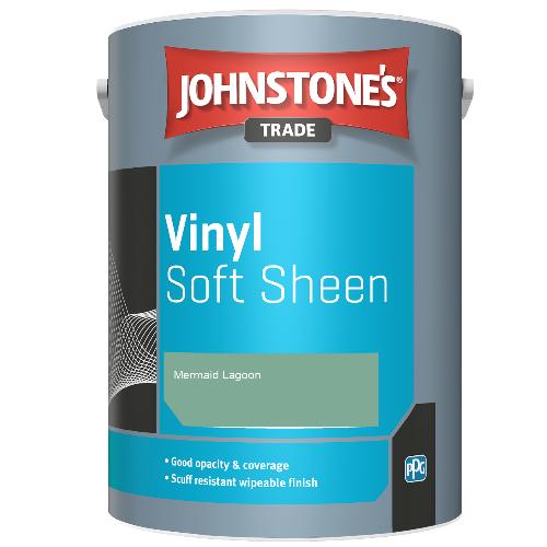 Johnstone's Trade Vinyl Soft Sheen - Mermaid Lagoon - 2.5ltr