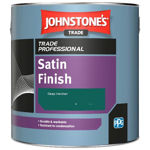 Johnstone's Satin Finish - Deep Veridian - 2.5ltr