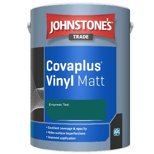 Johnstone's Trade Covaplus Vinyl Matt - Empress Teal - 1ltr