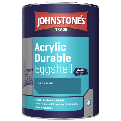 Johnstone's Trade Acrylic Durable Eggshell - New Journey - 5ltr