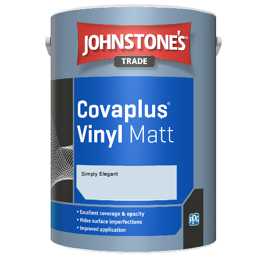 Johnstone's Trade Covaplus Vinyl Matt - Simply Elegant - 1ltr