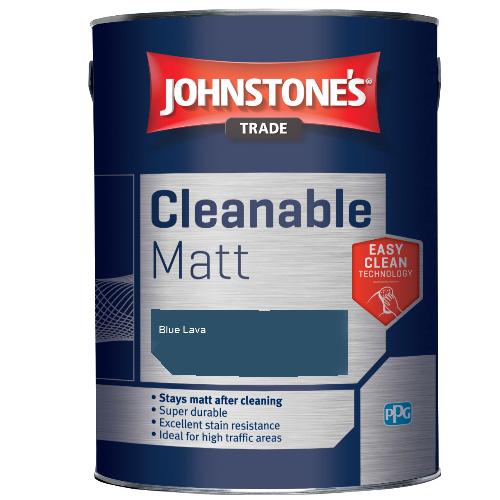 Johnstone's Trade Cleanable Matt - Blue Lava - 2.5ltr