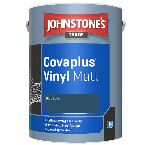 Johnstone's Trade Covaplus Vinyl Matt - Blue Lava - 1ltr
