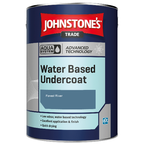 Johnstone's Aqua Water Based Undercoat - Forest River - 1ltr