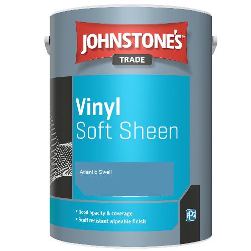 Johnstone's Trade Vinyl Soft Sheen - Atlantic Swell - 5ltr