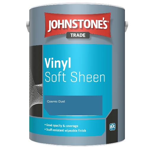 Johnstone's Trade Vinyl Soft Sheen - Cosmic Dust - 2.5ltr