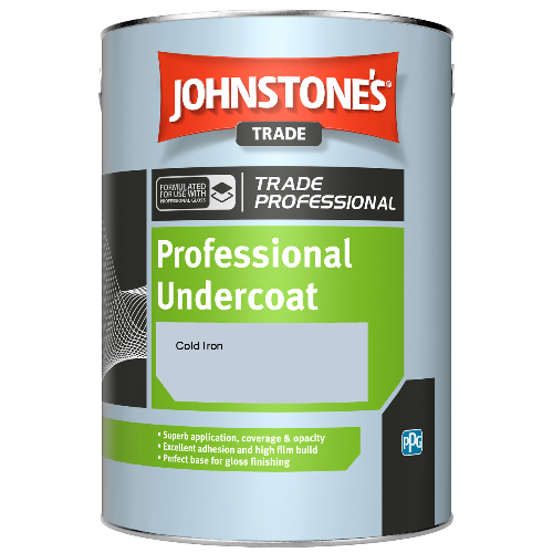 Johnstone's Professional Undercoat - Cold Iron - 1ltr
