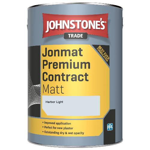 Johnstone's Trade Jonmat Premium Contract Matt - Harbor Light - 5ltr