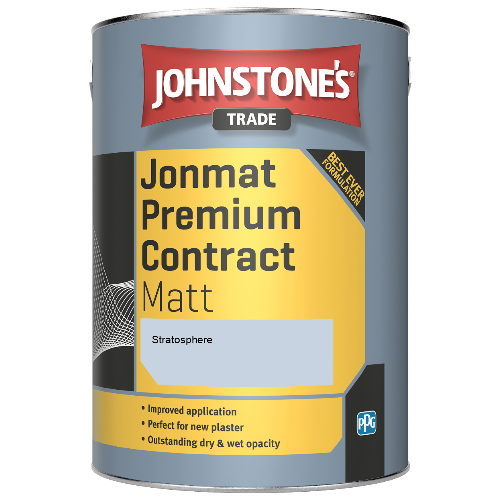 Johnstone's Trade Jonmat Premium Contract Matt - Stratosphere - 5ltr