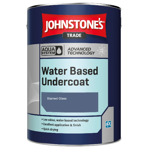 Johnstone's Aqua Water Based Undercoat - Stained Glass - 1ltr