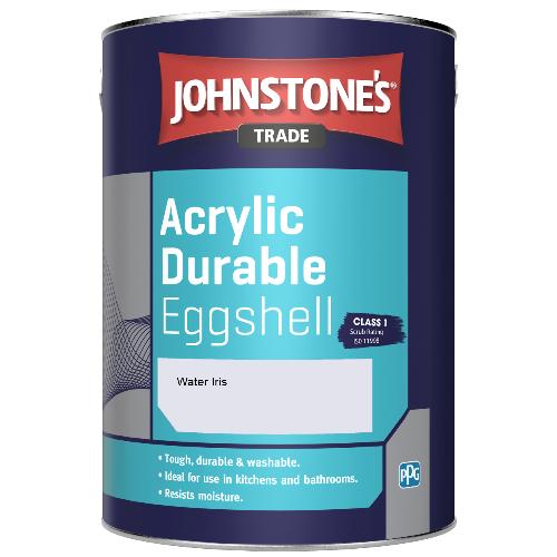 Johnstone's Trade Acrylic Durable Eggshell - Water Iris - 5ltr