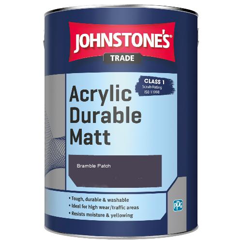 Johnstone's Trade Acrylic Durable Matt - Bramble Patch - 2.5ltr