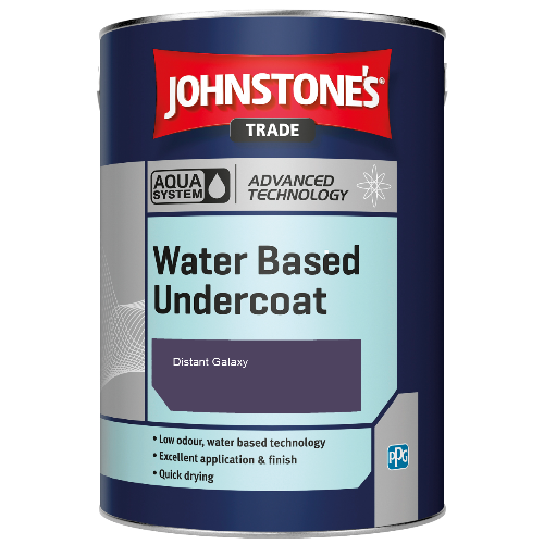 Johnstone's Aqua Water Based Undercoat - Distant Galaxy - 1ltr