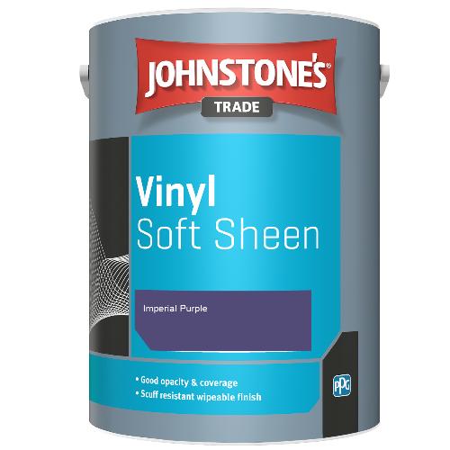 Johnstone's Trade Vinyl Soft Sheen - Imperial Purple - 5ltr