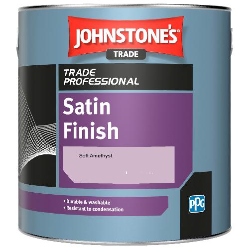 Johnstone's Satin Finish - Soft Amethyst - 2.5ltr