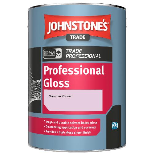 Johnstone's Professional Gloss - Summer Clover - 1ltr