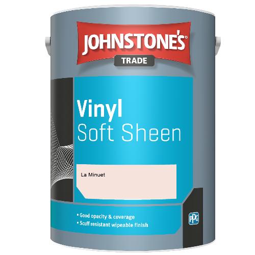 Johnstone's Trade Vinyl Soft Sheen - La Minuet - 5ltr